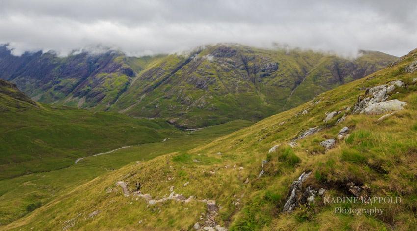 Buachaille Etive Beag in den schottischen Highlands, Schottland