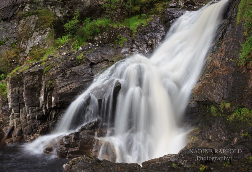 Chia Aig Falls in den schottischen Highlands, Schottland