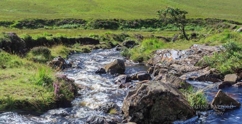 River Brittle auf der Isle of Skye in Schottland