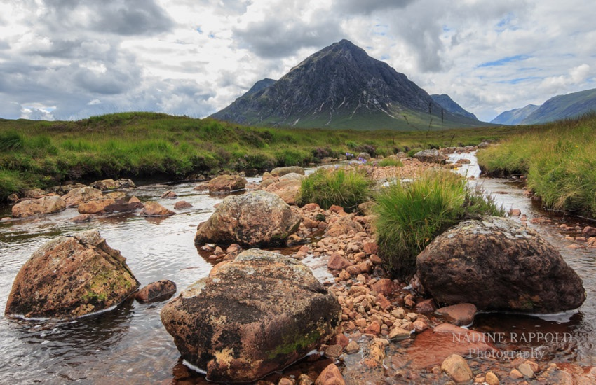 Stob Dearg Buachaille Highlands in Schottland