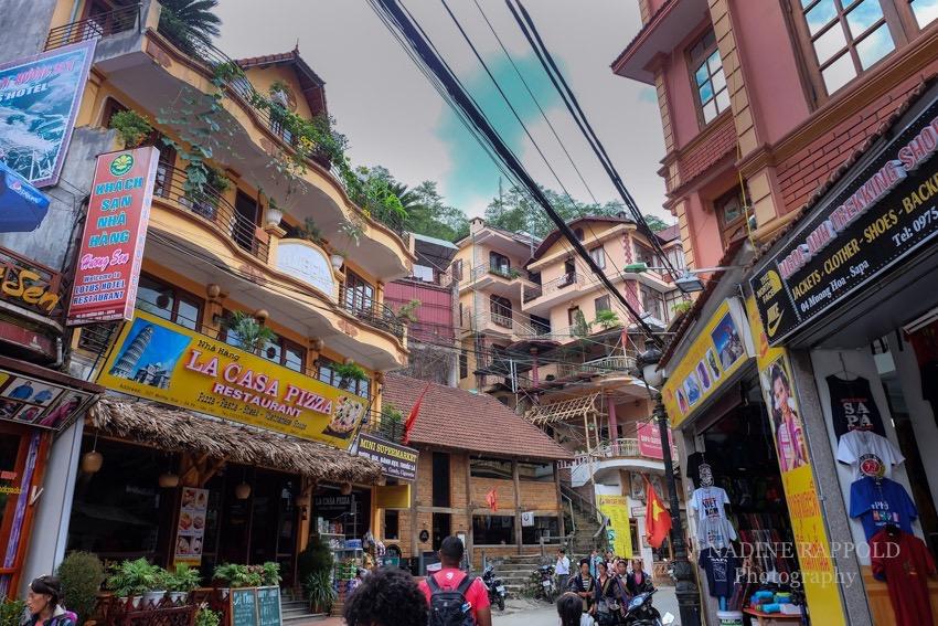 Vietnam Sapa Stadt