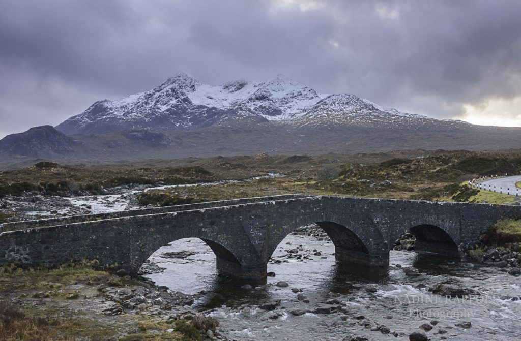 Sliagachan old bridge Scotland Isle of Skye