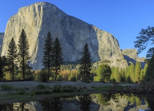 El Capitan Yosemite National Park hohe Schärfentiefe