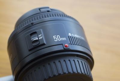 Kamera Objektiv Guide Festbrennweite 50mm