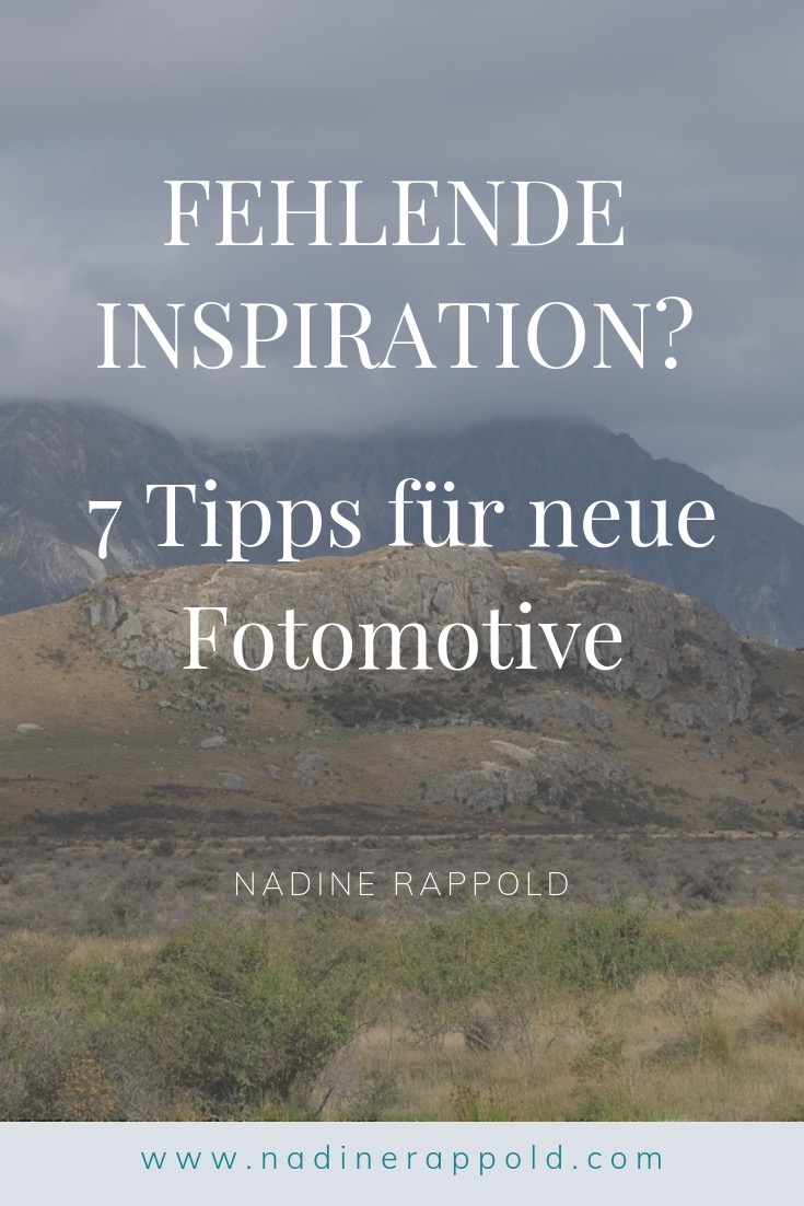 Inspiration 7 Tipps Fotomotive Pinterest