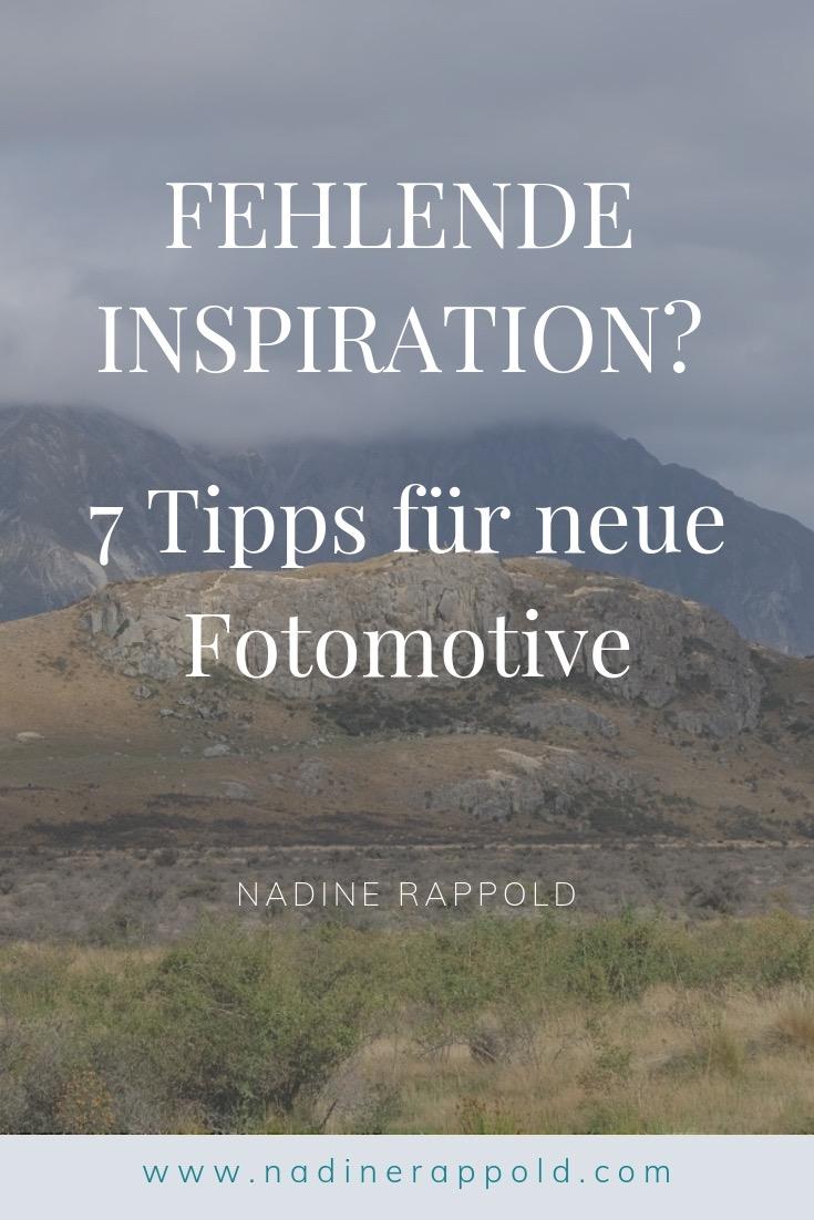 Inspiration 7 Tipps Fotomotive Pinterest
