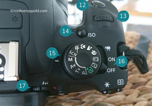 Digitalkamera Knöpfe Bedienung