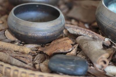Schale Holz Meditieren lernen für Anfänger