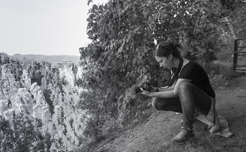 Fotografin Nadine Sächsische Schweiz